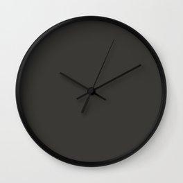 Peat Wall Clock