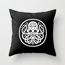 Cthulhu Symbol Throw Pillow