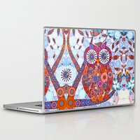 discount Laptop & iPad Skins featuring If Klimt Painted An Owl :) Owls are darling birds! by Love2Snap