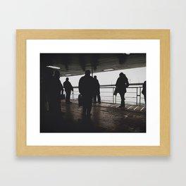 PEOPLES @ SHIP Framed Art Print