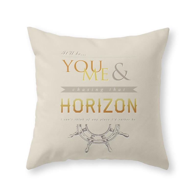 Isabela Romance Poster Throw Pillow