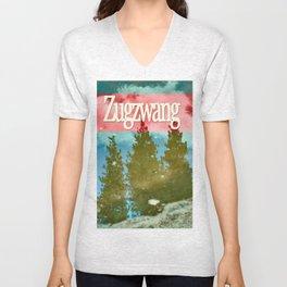 Zugzwang Puddle Reflection Unisex V-Neck