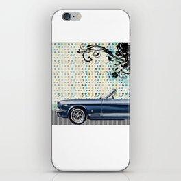 car & pattern iPhone Skin