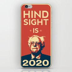 Hindsight is 2020 Bernie Sanders iPhone & iPod Skin