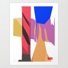 Beams Art Print