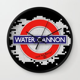 Water Cannon Wall Clock