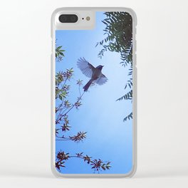 Flying Bird Clear iPhone Case
