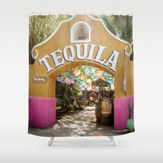 Tequila Tasting Shower Curtain