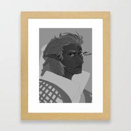 Inquisitor Anea Lavellan Framed Art Print