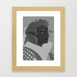 Inquisitor Anea Lavellan Framed Art Print