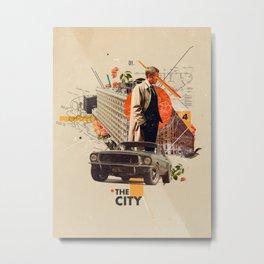 The City 1968 Metal Print