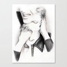 DECONSTRUCTION OF DAVID BOWIE  Canvas Print
