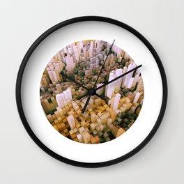 Obsolete Map Wall Clock