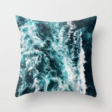 Beauty Waves Throw Pillow