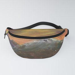 Sunset Mountains Fanny Pack