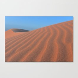 Monahans Sandhills At Sunset Canvas Print