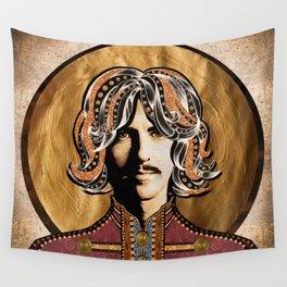 Boho Beatle (George) Wall Tapestry