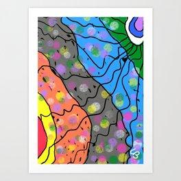 Mni Wiconi - Water is Life Art Print