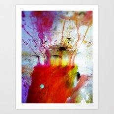 Running Away Art Print
