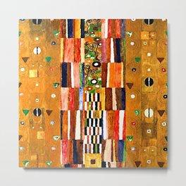 Gustav Klimt End of the Wall Metal Print