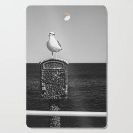 Seagull Takes A Break Cutting Board