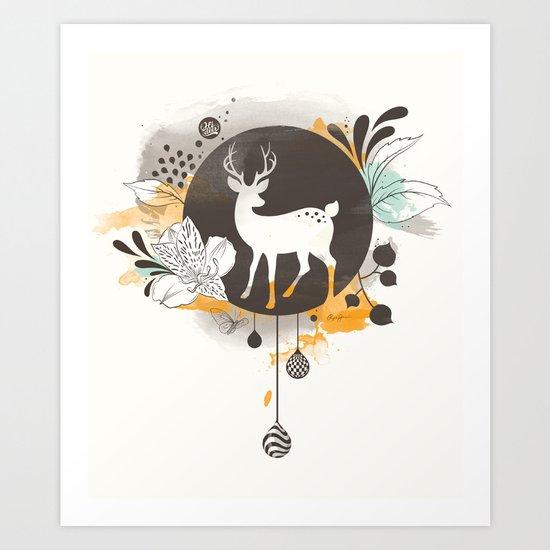 Hi Deer ! Art Print