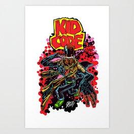 Kid Code Art Print