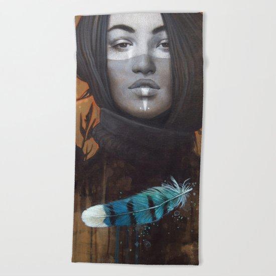 Marie-Bleue Beach Towel