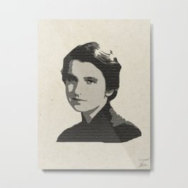 Rosalind Franklin Metal Print