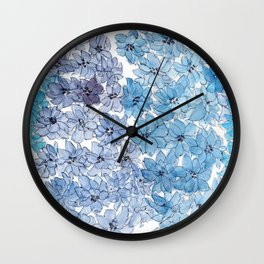 Light Blues Wall Clock