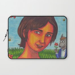 I Can't Imagine the World Without Me Laptop Sleeve