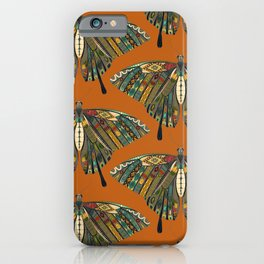 swallowtail butterfly copper iPhone Case