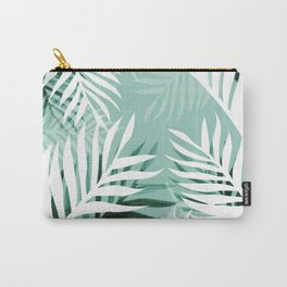 Tropical bliss - jungle green Carry-All Pouch