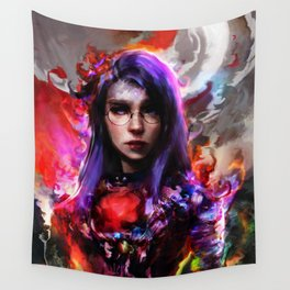 lady Wall Tapestry