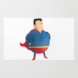 Fat Superman Rug