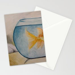 Fish and Chip Stationery Cards