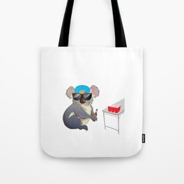 Koalalfied to Party Funny Drinking T-shirt Tote Bag