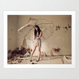 Beauty and Destruction Art Print