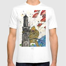Honey Monster SMALL White Mens Fitted Tee