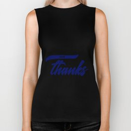 In Everything, Give Thanks Biker Tank