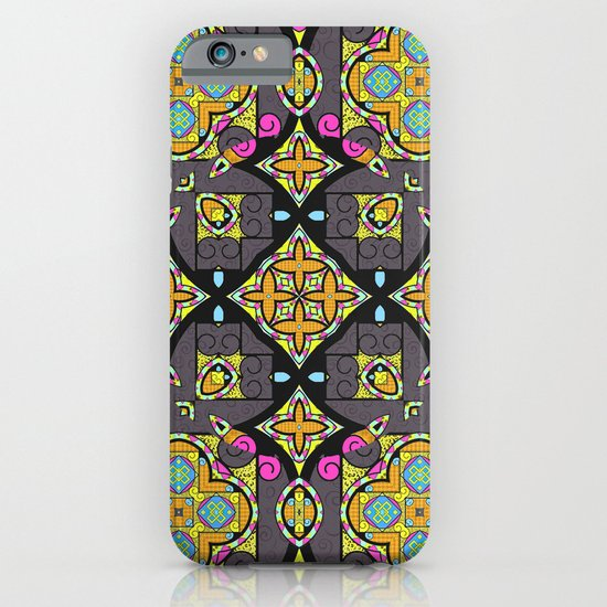 Happy Summer mandala iPhone & iPod Case
