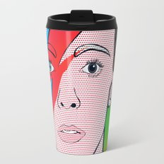 David Bowie Travel Mug