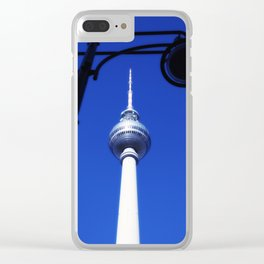 Berlin TV Tower No.3 Clear iPhone Case