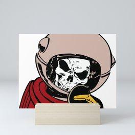 Skeleton Spaceman Mini Art Print