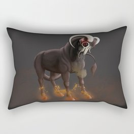 Fire and Brimstone Rectangular Pillow