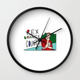 Rex Orange County Wall Clock