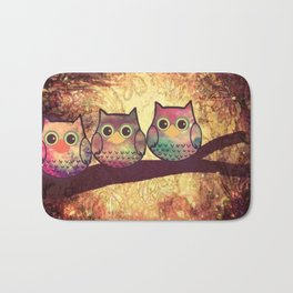 owl 139 Bath Mat