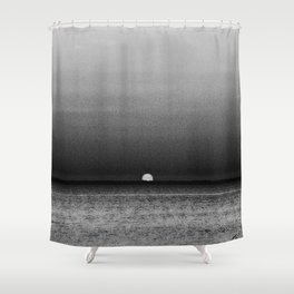 Sunset in Grayscale... Shower Curtain