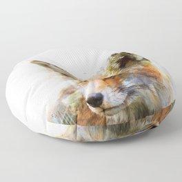 The cunning Fox Floor Pillow