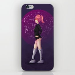 Penelope, the Pin-Up Space Cadet 2 iPhone Skin
